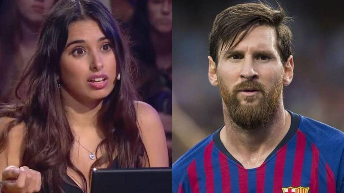 Una joven contó en TV que Messi la bloqueó en Instagram