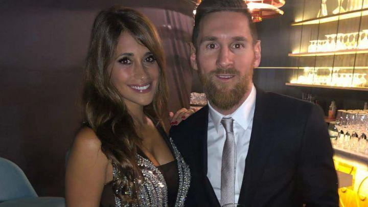 La foto de Anto Roccuzzo que hizo estallar a Leo Messi