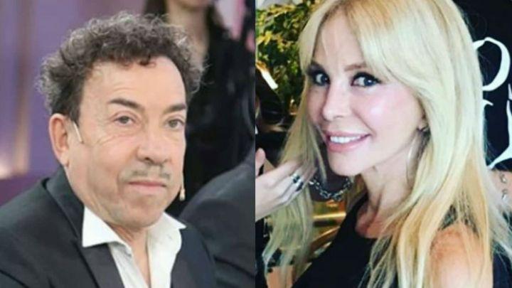 El emotivo encuentro entre Aníbal Pachano y Graciela Alfano