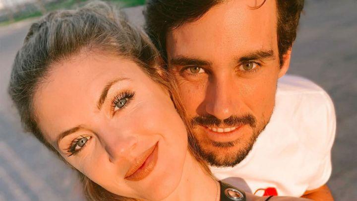 El romántico mensaje de Stephanie Demner a Guido Pella