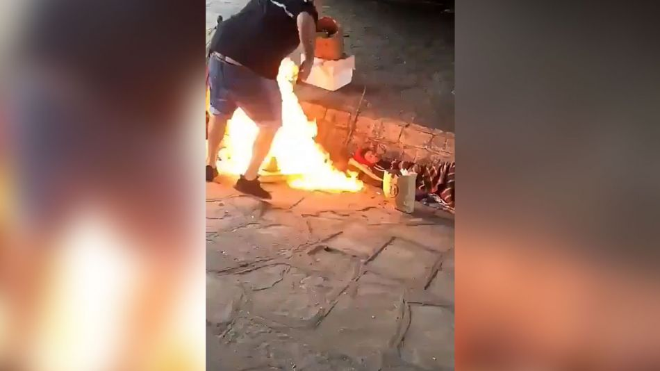 incendian a un indigente 20190522