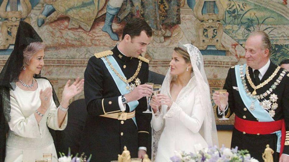 La maldición de la boda del rey Felipe de España y Letizia Ortiz