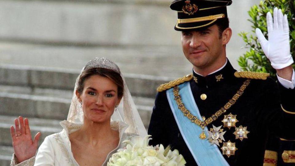 Felipe y Letizia.