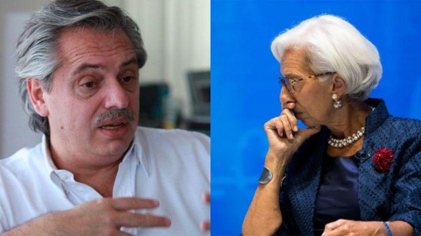 Autoridades del FMI no descartan reunión con Alberto Fernández