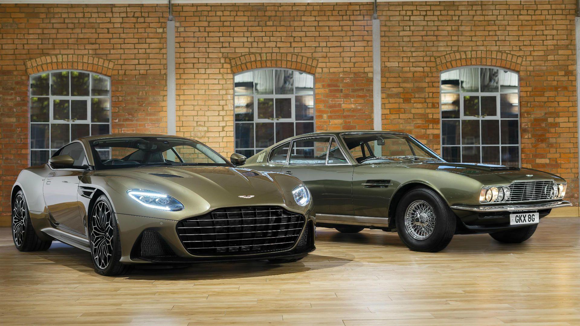 Parabrisas Aston Martin Dbs Superleggera Ohmss El Tributo A Un Film De 007