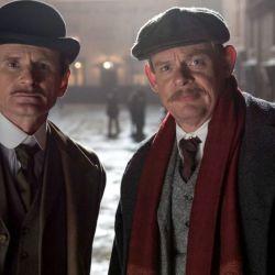 Sir Arthur Conan Doyle intenta resolver un crimen muy alejado de la ficción.