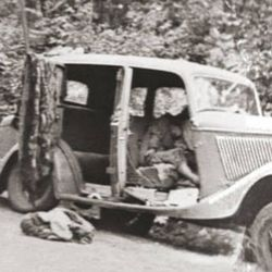 Ford V8 Bonnie y Clyde