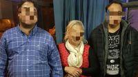 Detenidos por secuestro de una menor