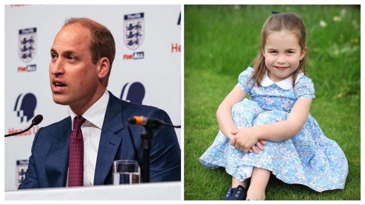 El Príncipe William enterneció a todos con el apodo que tiene para su hija