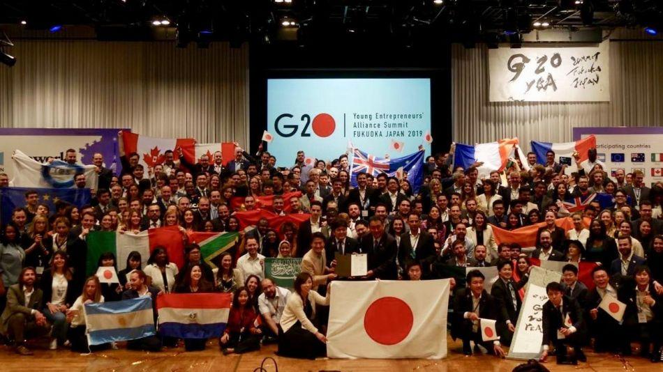 Jóvenes empresarios argentinos participaron del G20 YEA en Japón