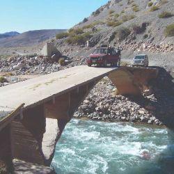 Puente Las Hornillas, una zona pesquera de truchas.