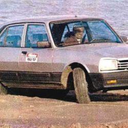 Así probábamos al Peugeot 504