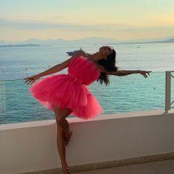 """El vestido """"low cost"""" de Kendall Jenner que revolucionó Cannes"""