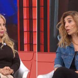 Graciela Alfano le pegó a Karina Iavícoli en vivo
