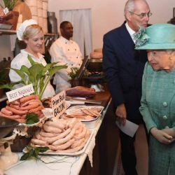 "La salida de ""plebeya"" de la Reina Isabel II"