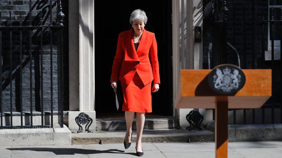 Theresa May renuncia