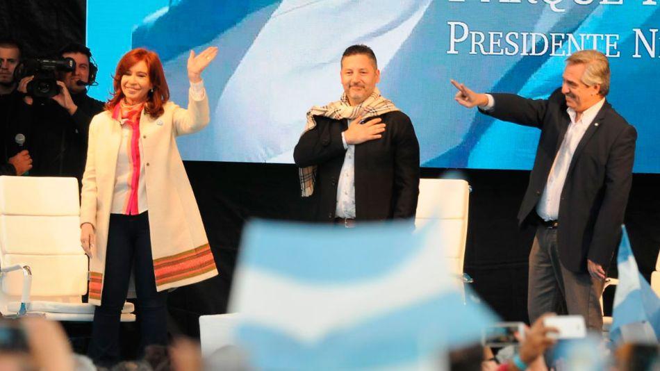 Acto de Campaña Cristina y Alberto Fernandez piemonte 20190525 tanda2