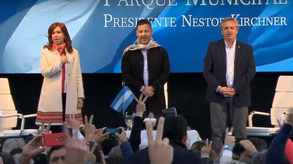 Cristina Kirchner Alberto Fernandez Merlo g_20190525