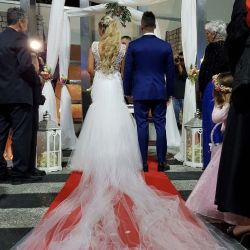 Se casó Nadia Di Cello