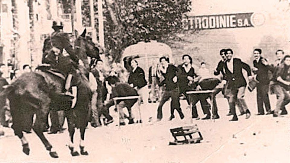 La represión de 1969.