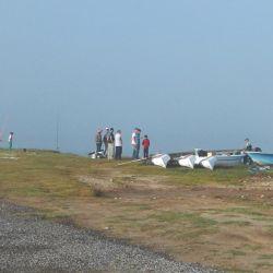 En Los Pampas se puede pescar tanto de costa como de embarcado.