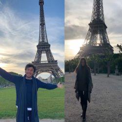 Las fotos de Pico Mónaco y su nueva novia en París