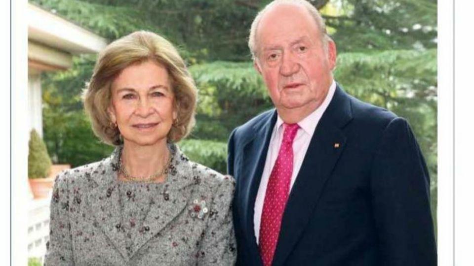 La Reina Sofía junto al Rey Juan Carlos