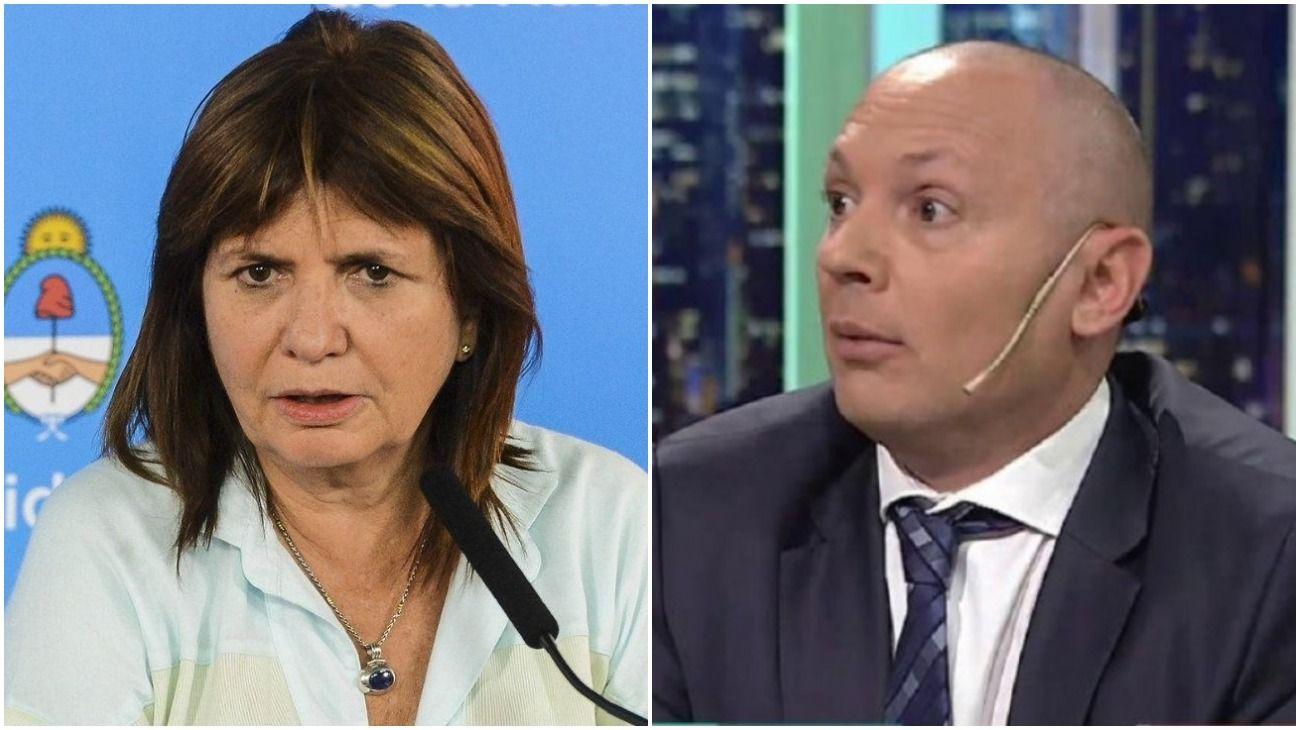 Patricia Bullrich dice que sólo vio una vez a Marcelo D'Alessio y nunca tuvo contacto.