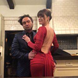 """Johnny Galecki,  de """"Big Bang Theory"""", revela el sexo de su bebé"""