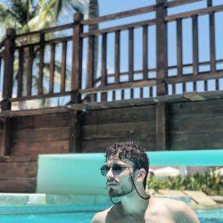 Las paradisíacas vacaciones de Albert Baró y su novia en Cozumel