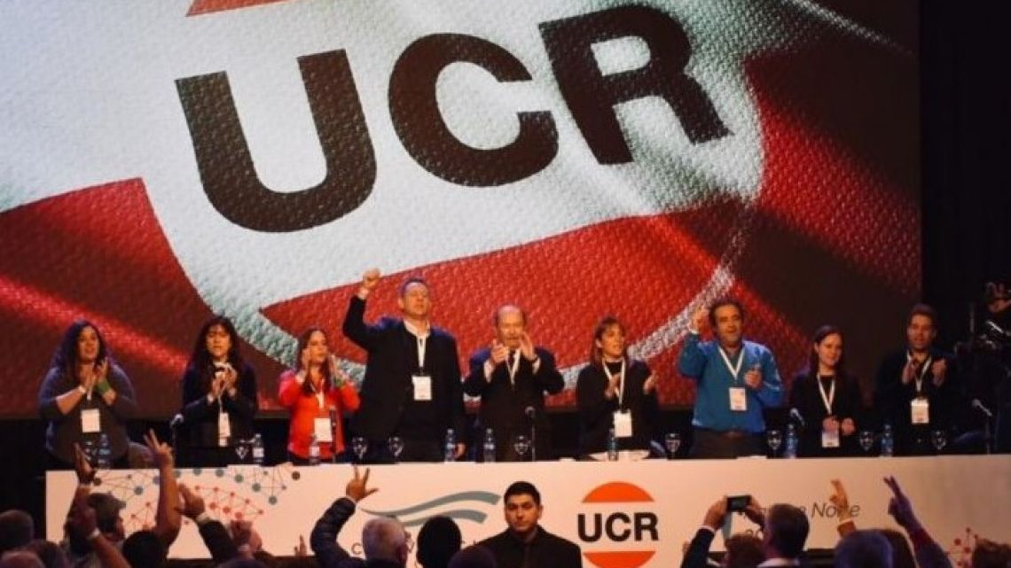 Inside the 2019 UCR Radical Party convention.