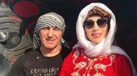 Fátima Florez celebró 20 años de amor en Egipto y Dubai