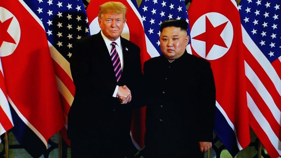 U.S. President Trump And North Korean Leader Kim Jong-un Meet In Hanoi