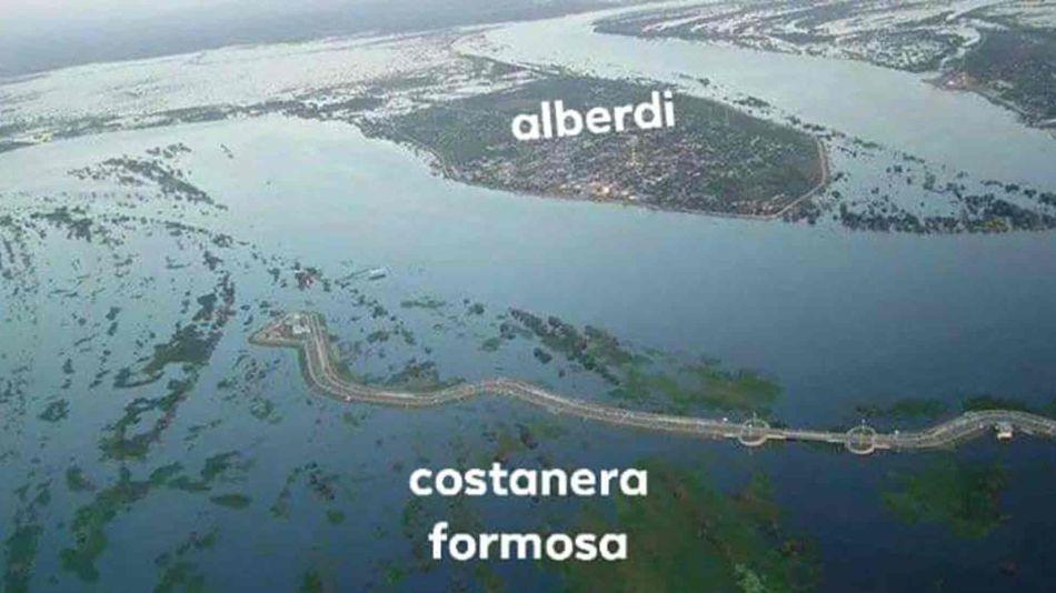 Crecida del Río Paraguay 05282019