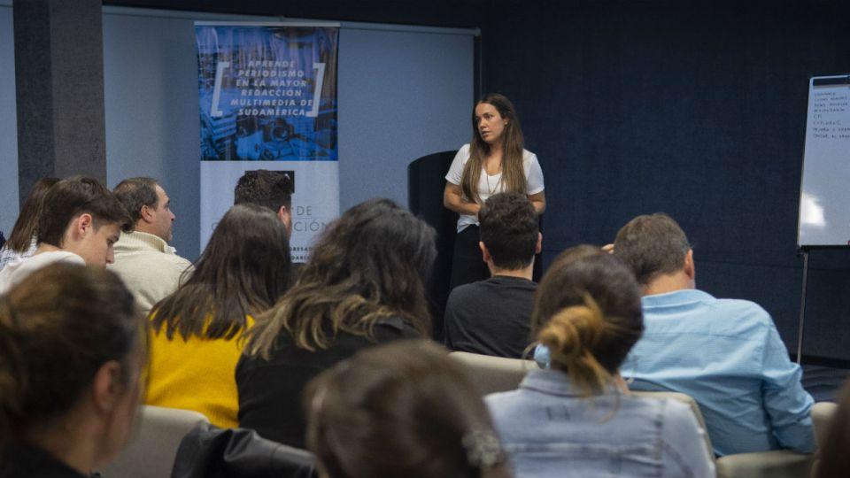 La Diplomatura en Community Management que Perfil Educación inauguró en mayo inició sus clases a sala llena en el auditorio de la editorial.