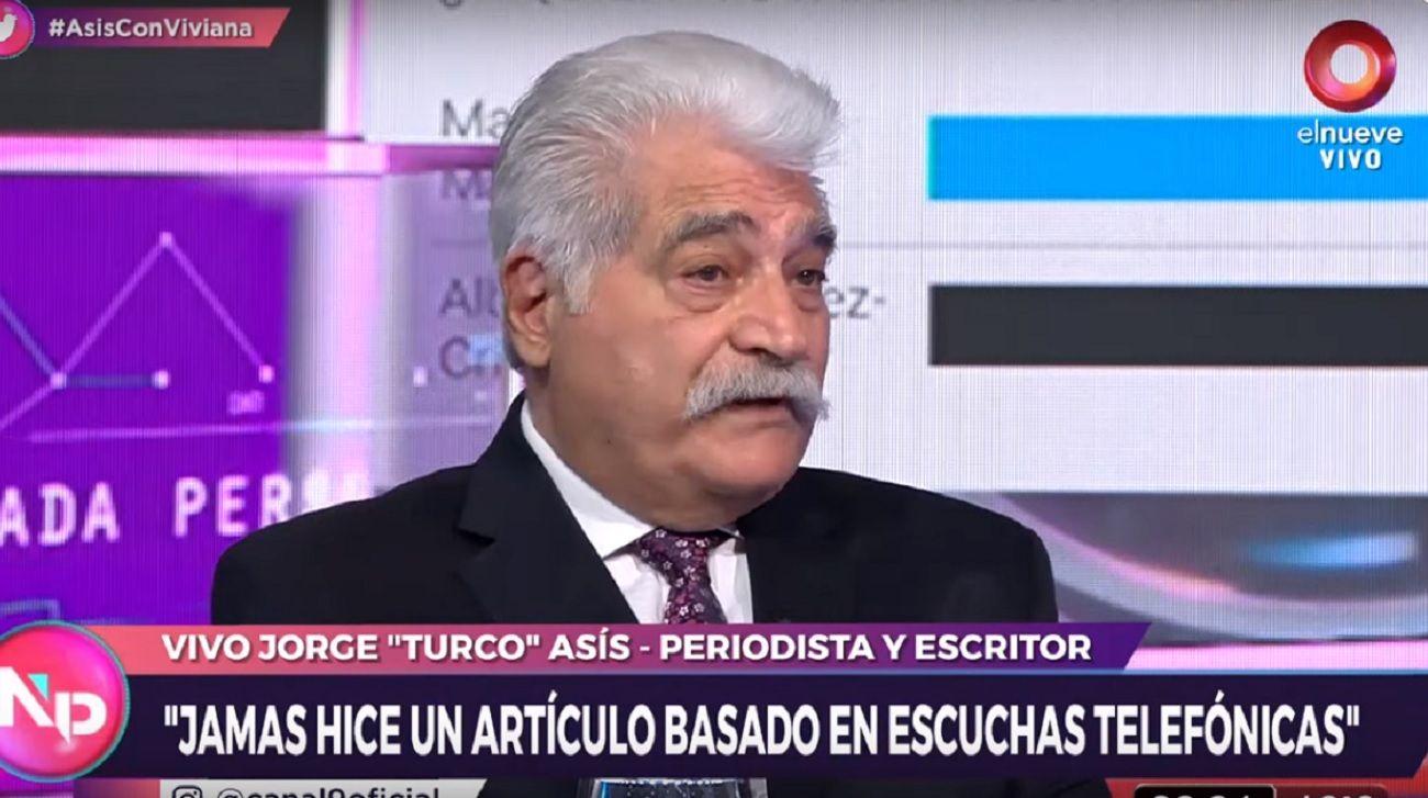 El analista Jorge Asís.