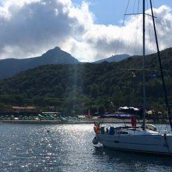 El paisaje es uno de los atractivos de la isla de Elba.