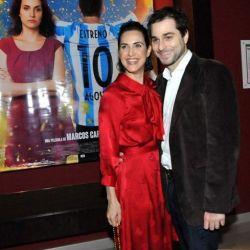 Julieta Díaz y Brent Federighi