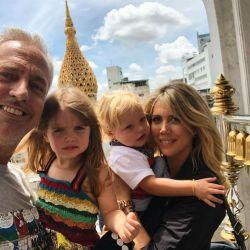 Marley con Mirko recorren Tailandia en compañía de Wanda e Isabella