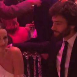 Pampita y Mariano Balcarce, súper enamorados en la gala de la Fundación Huésped