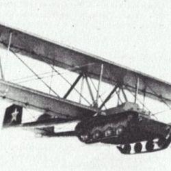 El Antonon sería remolcado por un avión para poder desplazarse hasta el campo de batalla en pocos minutos.