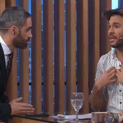Tomás Dente cruzó en vivo al Pollo Álvarez