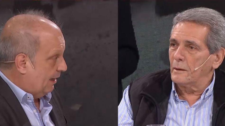 Hernán Lombardi y Carlos Acuña se cruzaron en el programa A dos Voces.