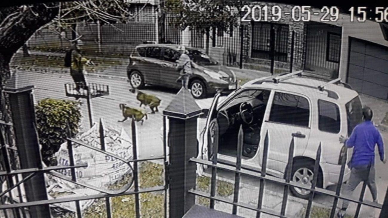 Asalto en el barrio Don Bosco, Quilmes.