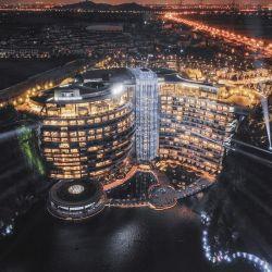 El Shimao Wonderland Intercontinental Hotel se encuentra cerca de Shanghai, en China.