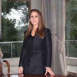 Entrevistada por Miriam Bunin para su programa Con Estilo, mostró la intimidad de su hogar