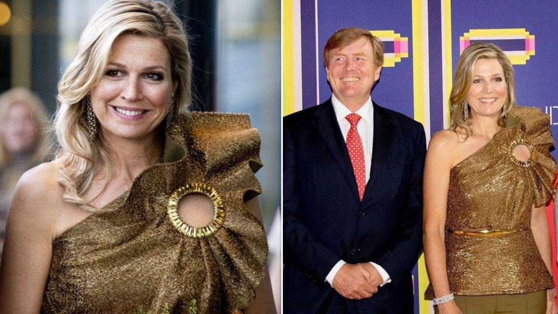 El golpe de efecto de Máxima de Holanda en su último reto fashionista