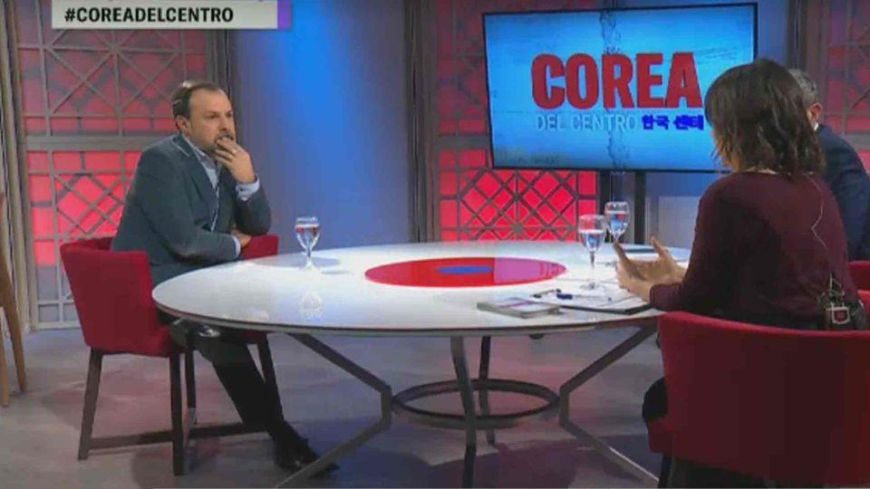 Gustavo Sylvestre, fue invitado a Corea del Centro en Net TV.