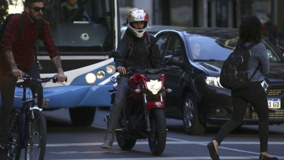 Los motoristas están en contra de la ley sancionada en la provincia de Buenos Aires.