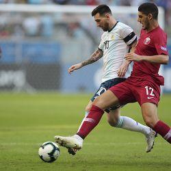 Brazil Soccer Copa America Qatar Argentina